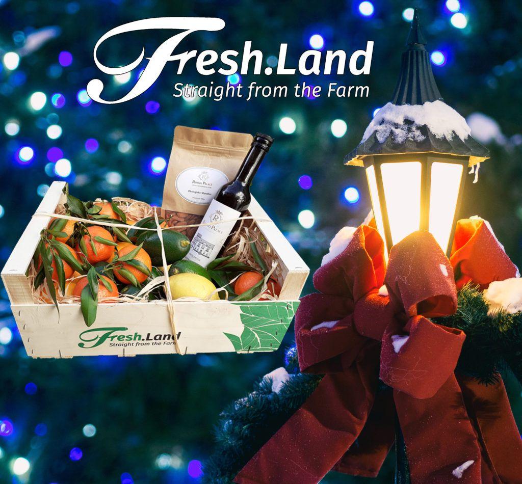 Fresh.Land julekassen